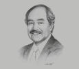 Sketch of Juan Varilias, President, Association of Exporters (ADEX)