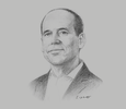 Sketch of Carlos Heeren, CEO, University of Technology and Engineering (UTEC)