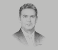 Sketch of Diego Muñoz-Nájar, President, Arequipa Chamber of Commerce
