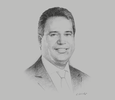 Sketch of Paulo Pantigoso, Country Managing Partner, EY Peru