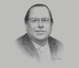 Sketch of Julio Velarde, Governor, Central Reserve Bank of Peru
