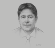 Sketch of Bruce Mac Master, President, National Business Association of Colombia