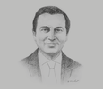 Sketch of David Luna, Minister of Information and Communication Technologies