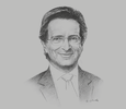 Sketch of Emilio Sardi Aparicio, Executive Vice-President, Tecnoquímicas