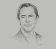 Sketch of Jaime E Trujillo Caicedo, Partner and Chair of Latin America Mergers and Acquisitions Practice Group, Baker McKenzie Colombia