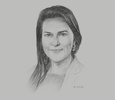 Sketch of Daniella Souza, President, Dow Chemical, Andean Region