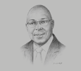 Sketch of Kelvin Charles, Chief Secretary, Tobago House of Assembly (THA)