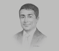 Sketch of Ravi Tewari, Group CEO, Guardian Group