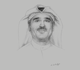 Sketch of Qusai Al Shatti, Acting Director-General, Central Agency for Information Technology (CAIT)