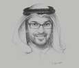 Sketch of Dr Ahmed Al Saleh, CEO, Health Assurance Hospitals Company