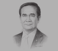 Sketch of  Prime Minister Prayut Chan-o-cha