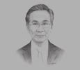 Sketch of Don Pramudwinai, Minister of Foreign Affairs