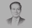 Sketch of Le Luong Minh, ASEAN Secretary-General