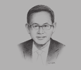 Sketch of Suthiphon Thaveechaiyagarn, Secretary-General, Office of Insurance Commission