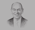 Sketch of Michael Plaxton, CEO, FWD Life Insurance