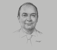 Sketch of Richard Borysiewicz, General Manager, BSP Capital