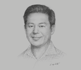 Sketch of Jason Yip, Managing Director, DAC Real Estate