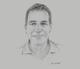 Sketch of Ilan Weiss, Chairman, Innovative Agro Industry
