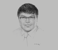 Sketch of Jonathan Seeto, Territory Partner, PwC