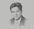 Sketch of Mark Loquan, President, The National Gas Company of Trinidad and Tobago (NGC)