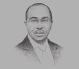 Sketch of Godwin Emefiele, Governor, Central Bank of Nigeria (CBN)