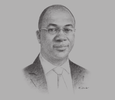 Sketch of Kayode Akinkugbe, Managing Director, FBN Merchant Bank