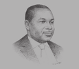 Sketch of Eguarekhide Longe, CEO, Aiico Pension