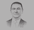 Sketch of Guido d'Aloisio, Central Africa Regional Manager, Saipem