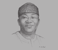 Sketch of Kayode Fayemi, Minister of Solid Minerals Development