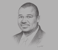 Sketch of Bukar Tijani, Regional Representative for Africa, UN Food and Agriculture Organisation