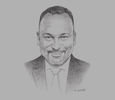 Sketch of Ayotunde Coker, CEO, Rack Centre