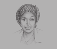 Sketch of Hadiza Bala Usman, Managing Director, Nigerian Ports Authority