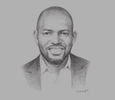 Sketch of Igbuan Okaisabor, CEO, Construction Kaiser