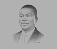 Sketch of Yomi Olugbenro, Partner and Head of Tax, Deloitte Nigeria
