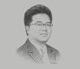 Sketch of Michael Widjaja, Group CEO, Sinar Mas Land