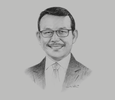 Sketch of Fachmi Idris, President Director, BPJS Kesehatan