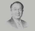 Sketch of Jim Yong Kim, President, World Bank Group