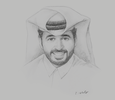 Sketch of Abdulaziz bin Nasser Al Khalifa, CEO, Qatar Development Bank (QDB)