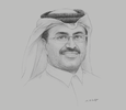 Sketch of Mohammed bin Saleh Al Sada, Minister of Energy and Industry
