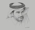 Sketch of Hassan Al Thawadi, Secretary-General, Supreme Committee for Delivery & Legacy (SC)
