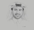 Sketch of Abdulla bin Abdulaziz bin Turki Al Subaie, Managing Director and CEO, Qatar Rail