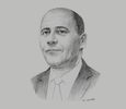 Sketch of Nafa Abrous, CEO, Maghreb Leasing Algérie