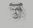 Sketch of Abdullah Al Sagheir, Acting Governor, General Authority for Small and Medium Enterprises