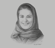 Sketch of Sarah Al Suhaimi, Chair, Saudi Stock Exchange (Tadawul); and CEO, NCB Capital