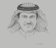 Sketch of Majed Najm, CEO, HSBC Saudi Arabia