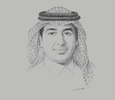 Sketch of Abdulaziz Al Boug, CEO, Tawuniya