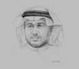 Sketch of Mazen Batterjee, Vice-Chairman, Jeddah Chamber of Commerce and Industry