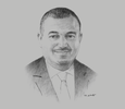 Sketch of Riyadh Al Najjar, Country Senior Leader, PwC Saudi Arabia