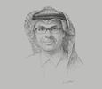 Sketch of Thamer Al Sharhan, Managing Director, ACWA Power