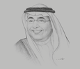 Sketch of Ali Alhazmi, Governor, Saline Water Conversion Corporation (SWCC)